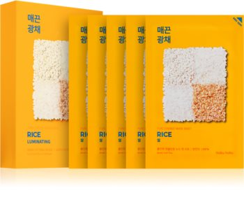 Holika Holika Pure Essence Rice Mască de iluminare și revitalizare