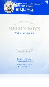 Holika Holika Mechnikov's Probiotics Formula rozjasňující plátýnková maska