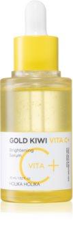 Holika Holika Gold Kiwi rozjasňující sérum s vitaminem C proti pigmentovým skvrnám
