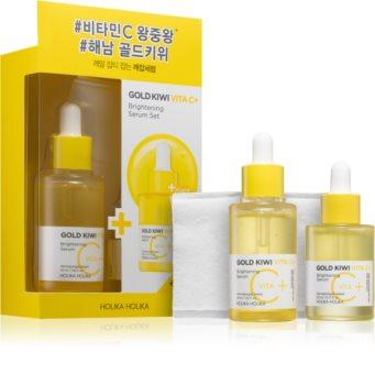 Holika Holika Gold Kiwi Cosmetic Set (with Brightening Effect)