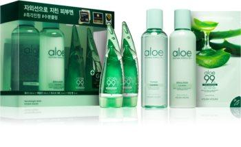 Holika Holika Aloe zestaw kosmetyków dla nawilżenia skóry ciała