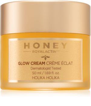 Holika Holika Honey Royalactin lehký hydratační gelový krém pro rozjasnění pleti