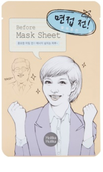 Holika Holika Mask Sheet Before energizáló arcmaszk