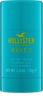 Hollister Wave 2 desodorizante em stick para homens