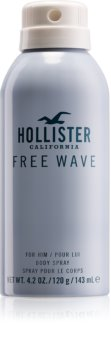 Hollister Free Wave Body Spray for Men