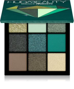 Huda Beauty Emerald Obsessions Lidschattenpalette