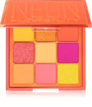 Huda Beauty Neon Obsessions Orange palette de fards à paupières