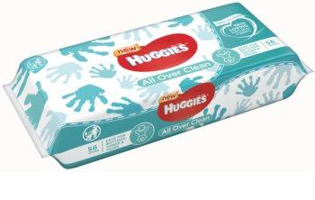Huggies All Over Clean tisztító törlőkendő gyermekeknek