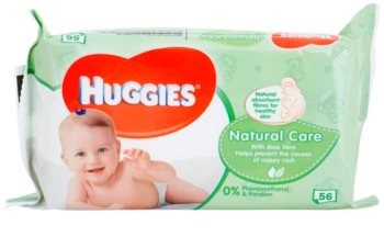 Huggies Natural Care καθαριστικά μαντηλάκια  με αλόη βέρα