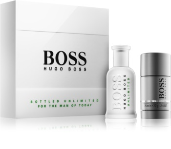 Hugo Boss BOSS Bottled Unlimited lote de regalo II. para hombre