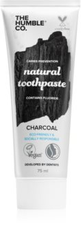 The Humble Co. Natural Toothpaste Charcoal pastă de dinți naturală