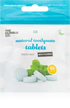 The Humble Co. Natural Toothpaste Tablets pastilky