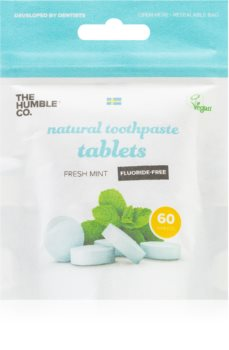 The Humble Co. Natural Toothpaste Tablets pastile fara flor