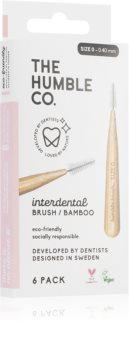 The Humble Co. Interdental Brush Zahnbürste für die Zahnzwischenräume 6 Stück