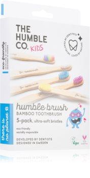 The Humble Co. Brush Kids Periuta de dinti de bambus ultra moale