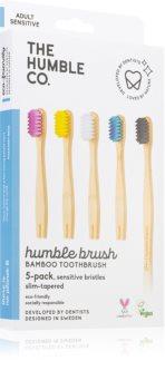 The Humble Co. Brush Adult Periuta de dinti de bambus foarte moale