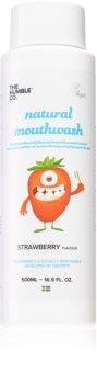 The Humble Co. Mouthwash Kids Mundspülung mit Erdbeergeschmack