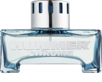Hummer Chrome Eau de Toilette per uomo