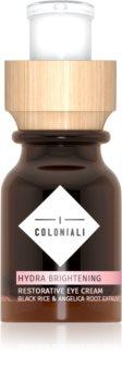 I Coloniali Hydra Brightening околоочен крем за освежаване и хидратация