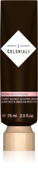 I Coloniali Hydra Brightening lekka maseczka żelowa dla efektu rozjaśnienia i wygładzenia skóry
