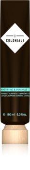 I Coloniali Mattifying & Pureness sanfte Reinigungscreme für intensive Feuchtigkeitspflege der Haut