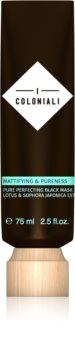 I Coloniali Mattifying & Pureness Reinigende schwarze Maske für augenblickliche Aufhellung
