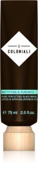 I Coloniali Mattifying & Pureness почистваща черна маска за мигновено озаряване