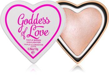 I Heart Revolution Goddess of Love озаряваща пудра