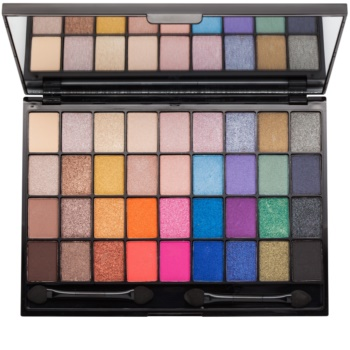 I Heart Revolution Slogan Palette paleta de sombras de ojos con espejo y aplicador