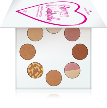 I Heart Revolution Highlighter Wardrobe palette d'enlumineurs