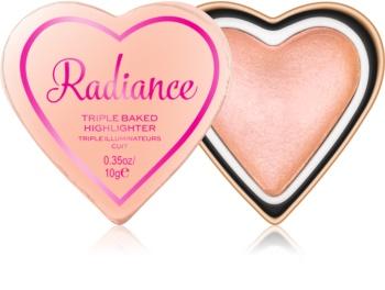 I Heart Revolution Glow Hearts zapečený rozjasňovač