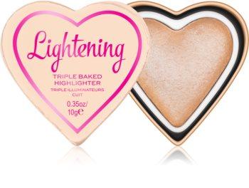 I Heart Revolution Glow Hearts iluminador horneado