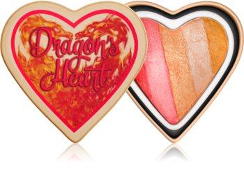I Heart Revolution Dragons Heart bőrélénkítő arcra és szemre