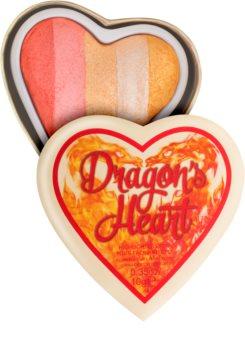 I Heart Revolution Dragons Heart illuminateur yeux et visage