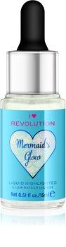 I Heart Revolution Mermaids Glow рідкий хайлайтер