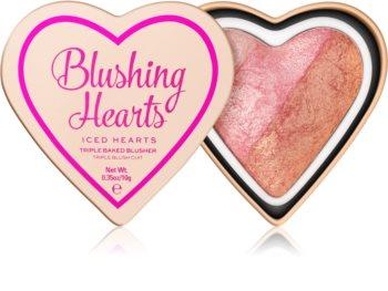 I Heart Revolution Blushing Hearts róż do policzków