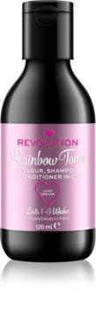 I Heart Revolution Rainbow Shots Pois Huuhtoutuva Hiustenpesuaine Hiuksille