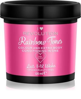 I Heart Revolution Rainbow Tones Urtvättningsbar färg för hår