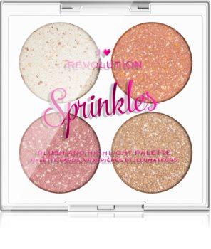 I Heart Revolution Sprinkles палитра за лице