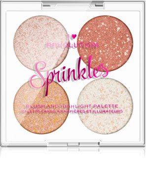 I Heart Revolution Sprinkles Palette visage