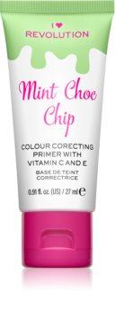 I Heart Revolution Delicious Primer Mint Chocolate Chip Make-up Primer gegen Rötungen