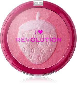 I Heart Revolution Fruity Blusher Strawberry компактні рум'яна