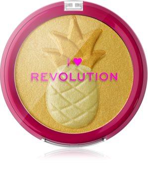I Heart Revolution Fruity συμπαγής πούδρα λάμψης