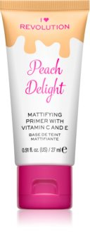 I Heart Revolution Delicious Primer Peach Delight base de teint matifiante