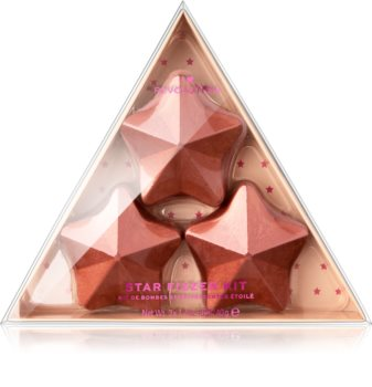 I Heart Revolution Fizzer Kit Star Värillisiä Poreilevia Kylpytabletteja