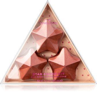 I Heart Revolution Fizzer Kit Star Χρωματισμένες αφρίζουσες ταμπλέτες μπάνιου