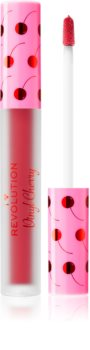 I Heart Revolution Vinyl Cherry flüssiger Lippenstift