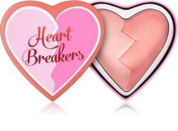 I Heart Revolution Heartbreakers tvářenka s matným efektem