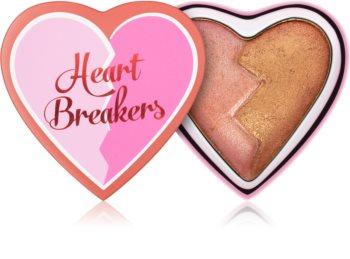 I Heart Revolution Heartbreakers blush cu efect iluminator