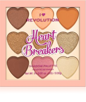 I Heart Revolution Heartbreakers Lidschattenpalette